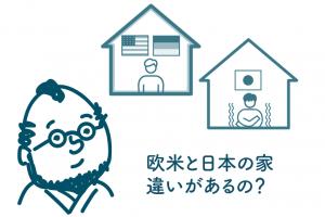 欧米と日本の家の違い